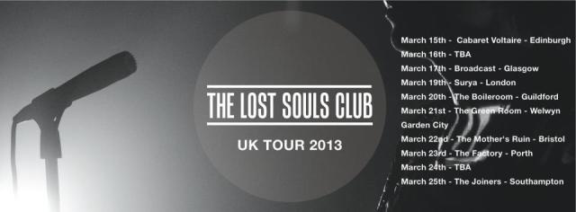 The Lost Souls Club Tour